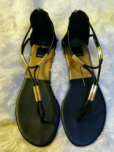 Dolce Vita back zip gladiator sandals
